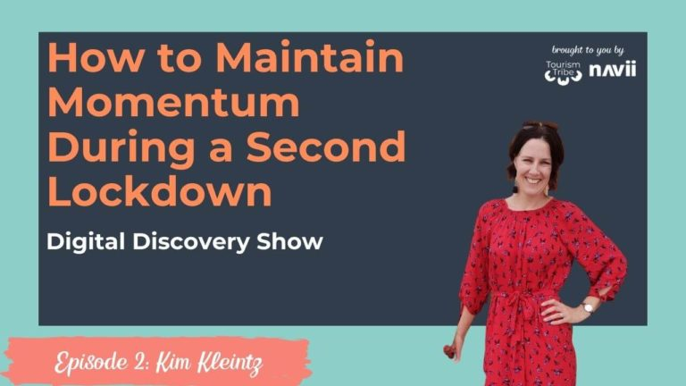 Kim Kleintz, How to maintain momentum during a second lockdown