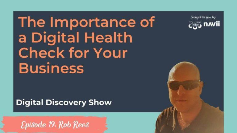 Digital health check, Rob Rees