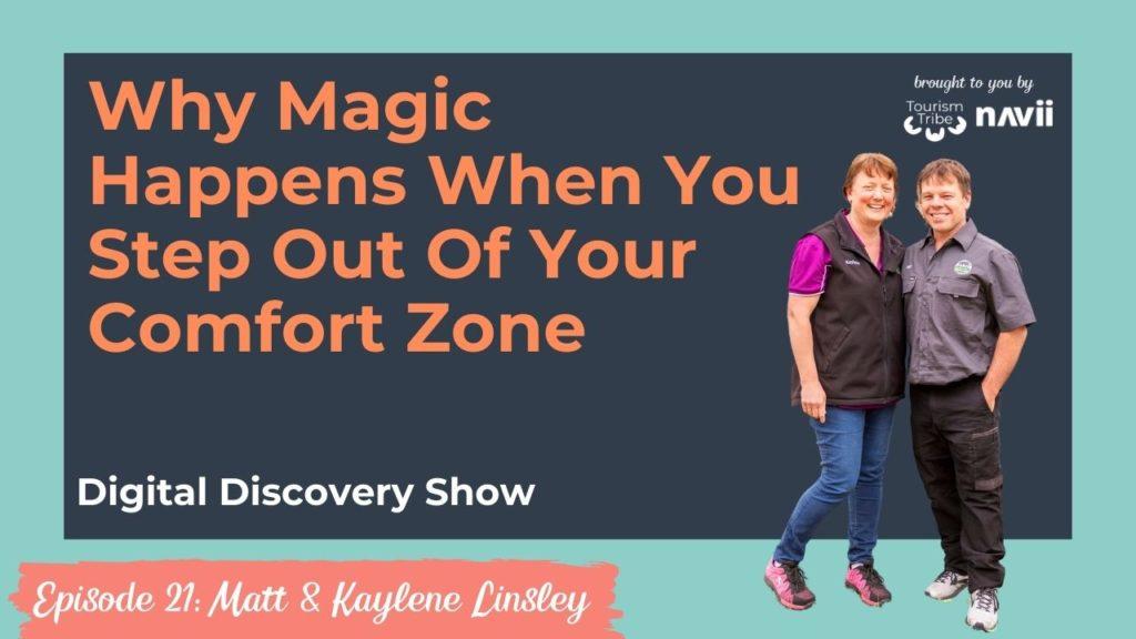 Digital Discovery Show episode 21 Matt & Kaylene Linsley